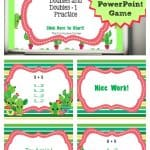 FREE Doubles and Doubles + 1 PowerPoint Game   Doubles Facts   The Curriculum Corner 5