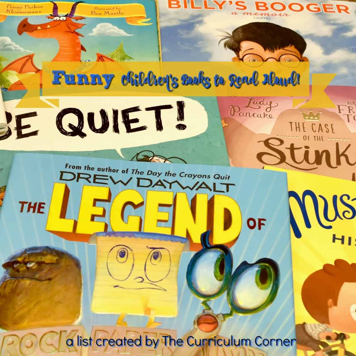 Funny Books for Read Alouds