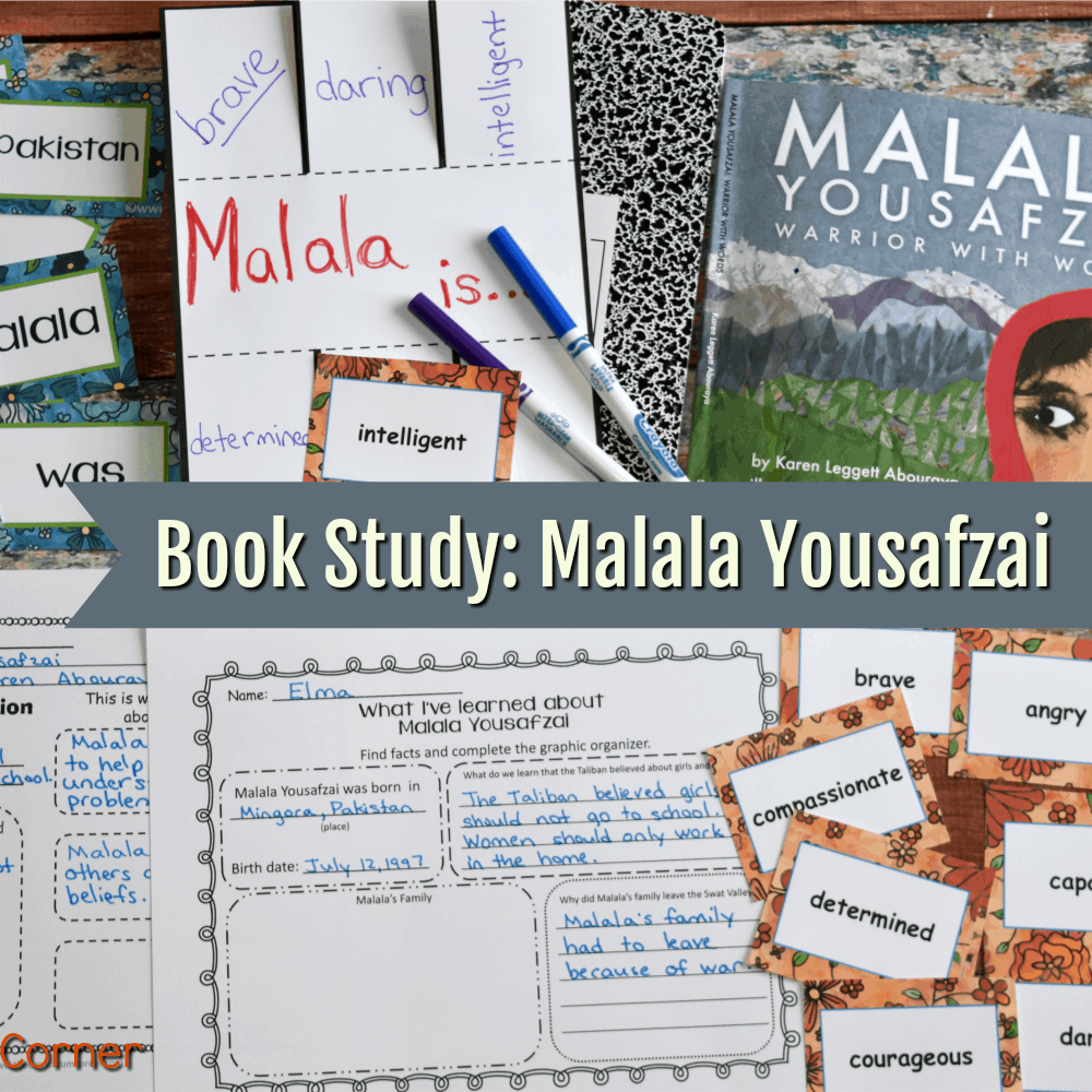 Book Study: Malala Yousafzai