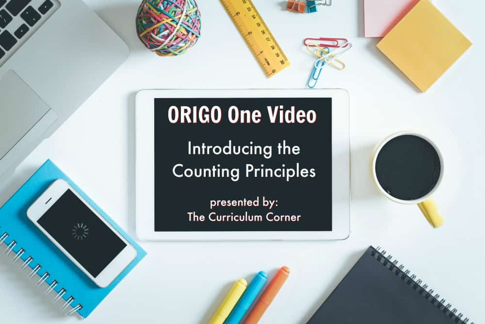 ORIGO 1 Video: Introducing the Counting Principles