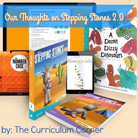Math Program Review: ©ORIGO Stepping Stones 2.0