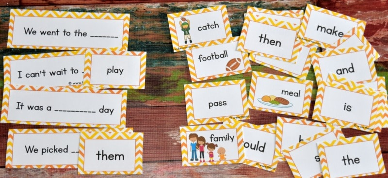 FREE Fall Writing Interventions from The Curriculum Corner 2