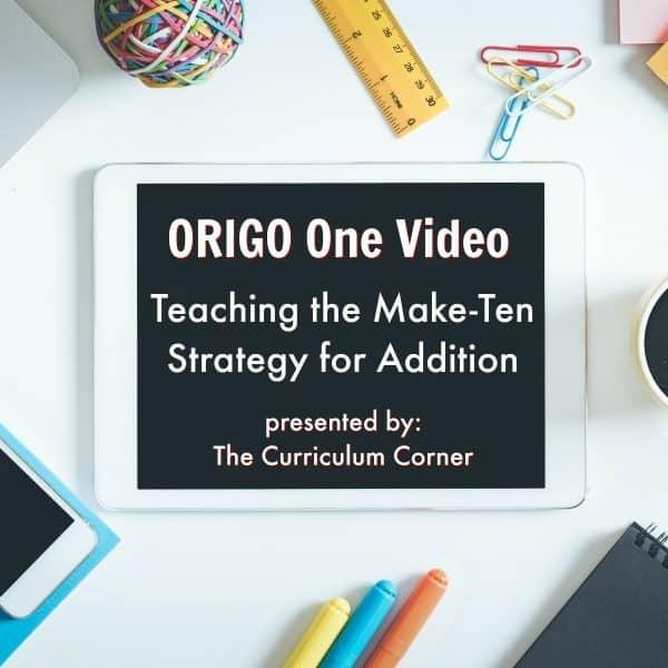 ORIGO 1 Video: Addition Strategy