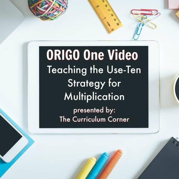 ORIGO 1 Video: Multiplication Strategy
