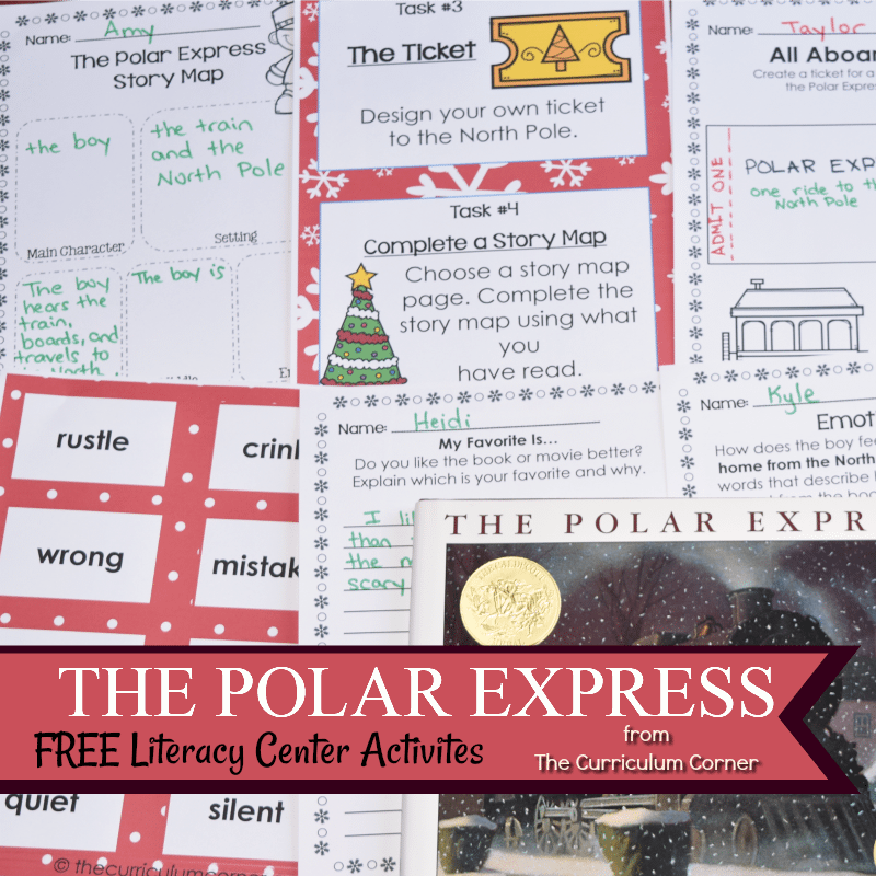 Book Study: The Polar Express