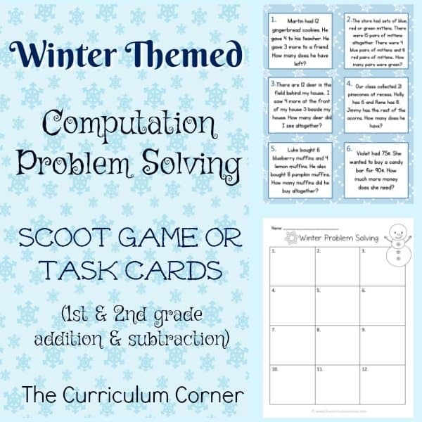 Winter Problem Solving (2nd Grade)