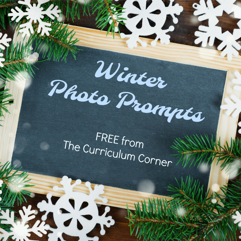 Winter Writing Picture Prompts