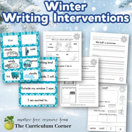 Winter Writing Interventions