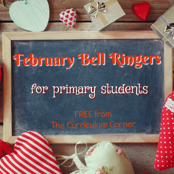 February Bell Ringer Questions