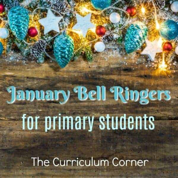 January Bellringer Questions