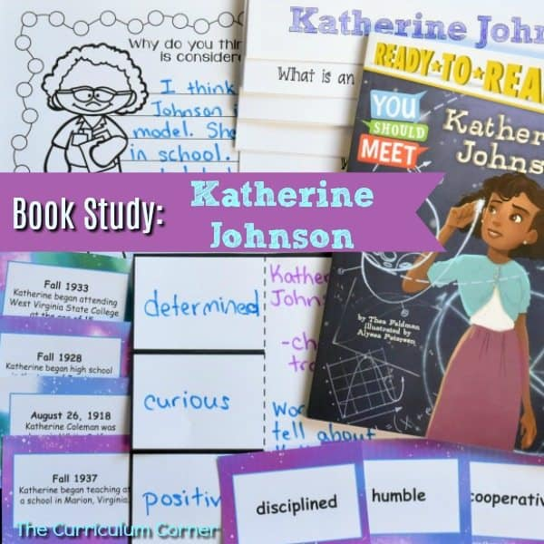 Book Study: Katherine Johnson