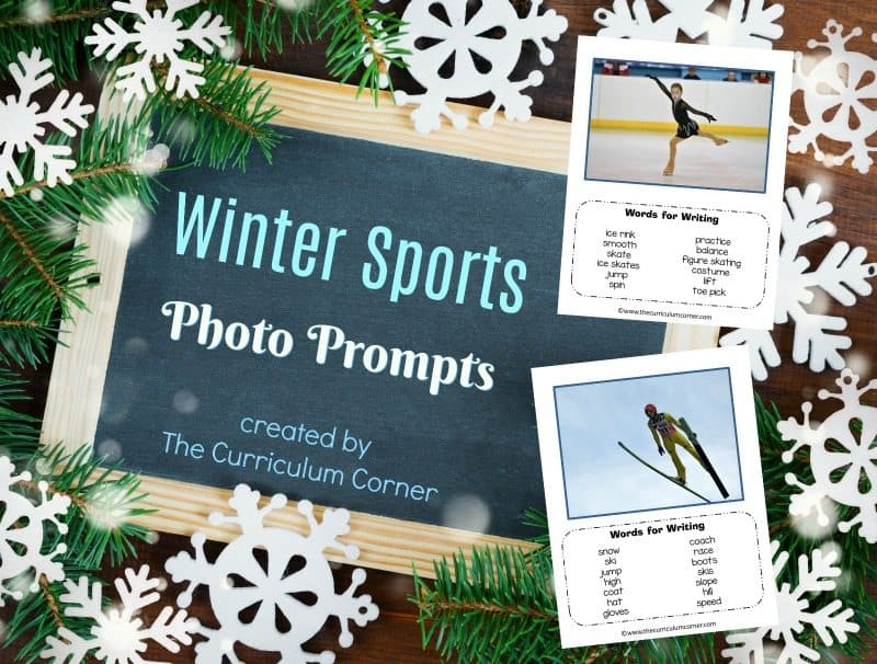 Winter Sports Photo Prompts