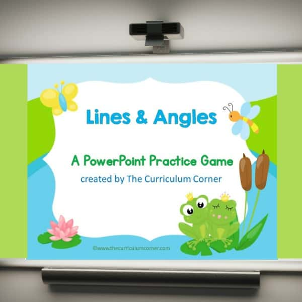 Lines and Angles Geometry Game