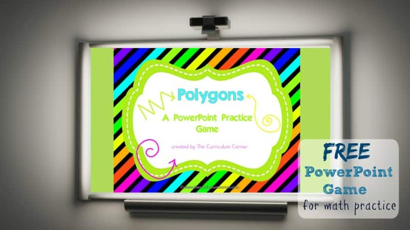 Use this polygons geometry game for PowerPoint to give your third grade students practice with identifying shapes.