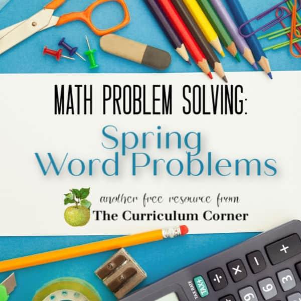 Spring Problem Solving (2nd Grade)