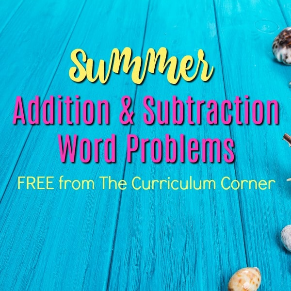 Summer Problem Solving (2nd Grade)