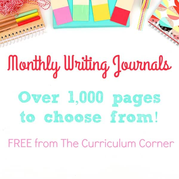 Monthly Printable Journals