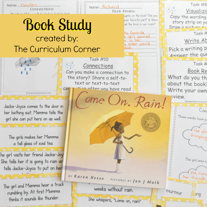 Book Study: Come On, Rain!
