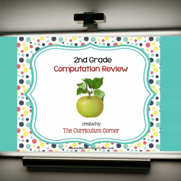 Review Game: 2nd Grade Computation