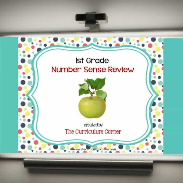 Review Game: 1st Grade Number Sense