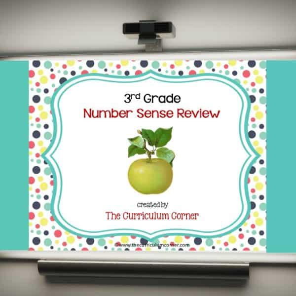 Review Game: 3rd Grade Number Sense
