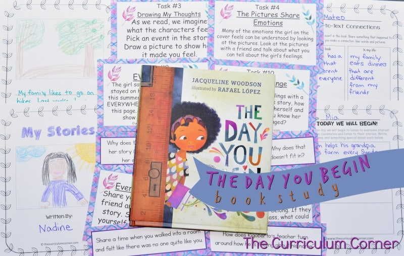 The Day You Begin by Jacqueline Woodson is a beautiful new story encouraging children to appreciate their differences and connect with others even when they feel alone.
