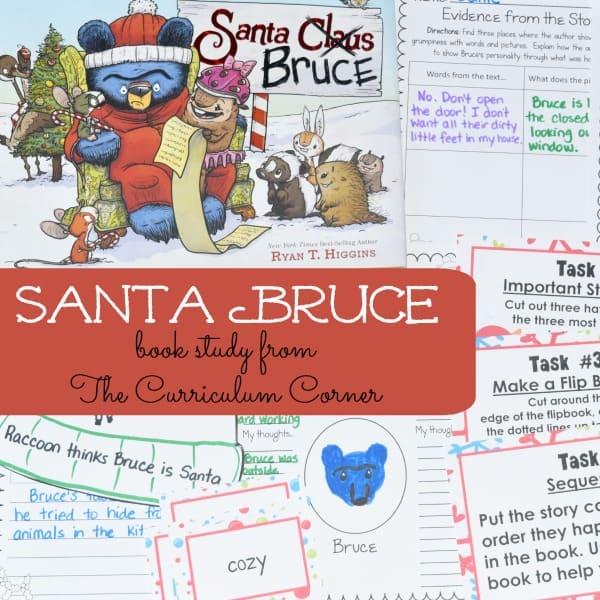 Book Study: Santa Bruce
