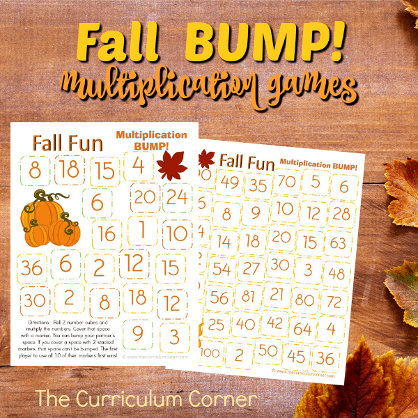 Fall Multiplication Bump Games