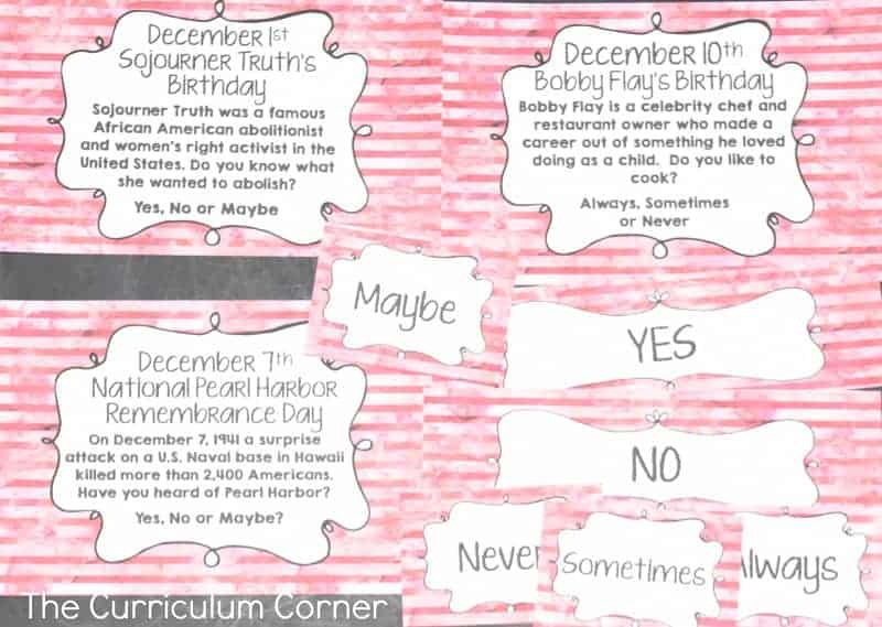 December Bell Ringer Questions