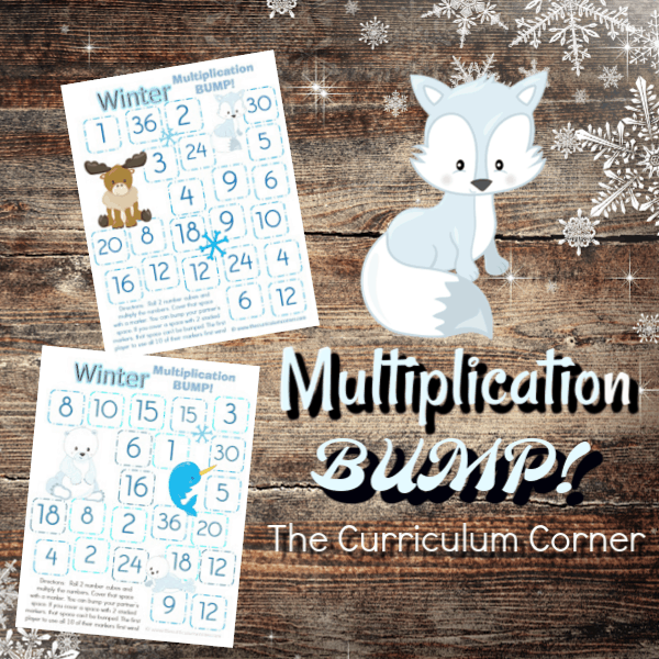Arctic Animals Multiplication BUMP!