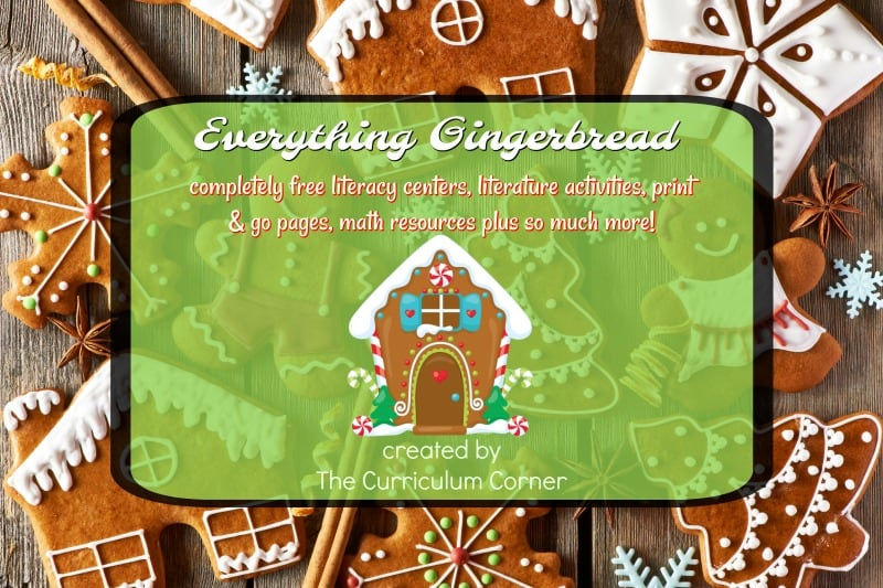 Gingerbread stories are always a classroom favorite for December - children love to explore different versions of the story.