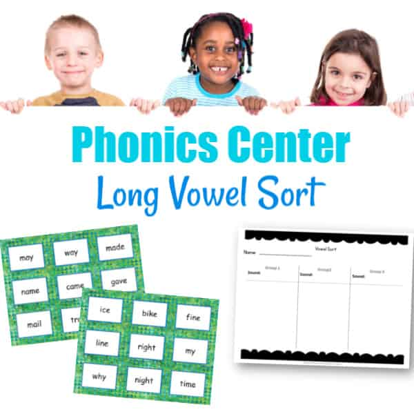 Long Vowel Sort Center