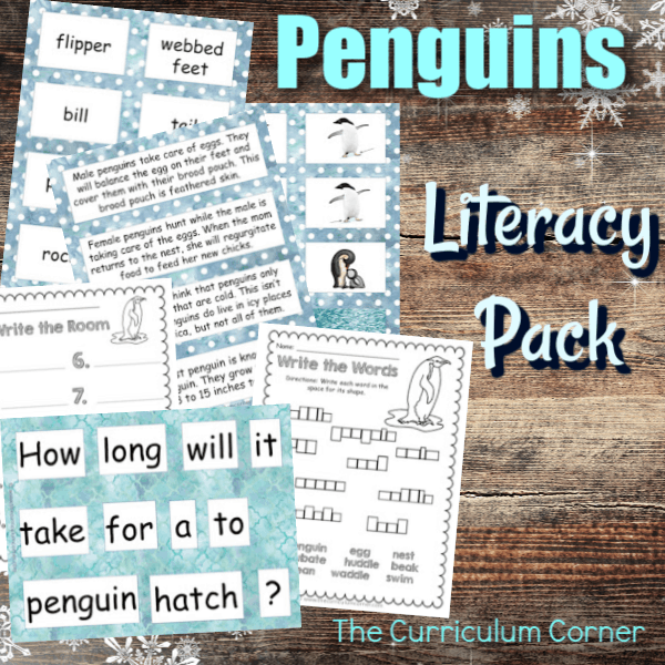 Penguin Literacy Set