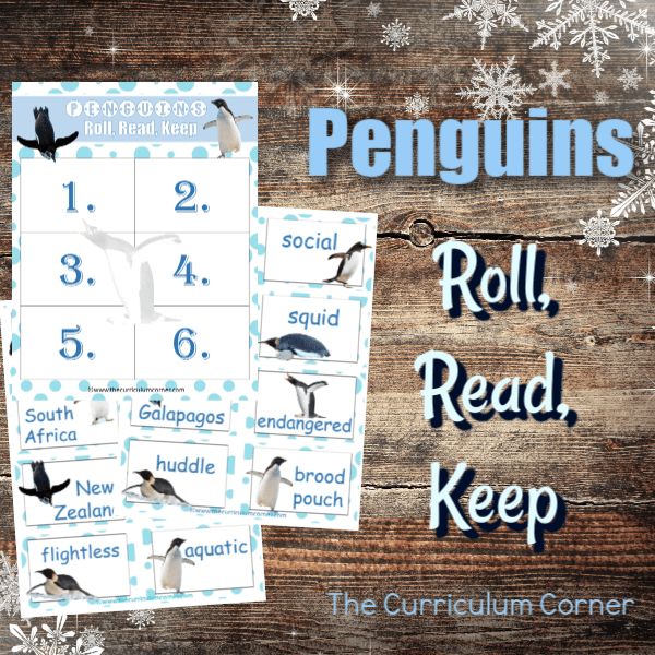 Penguin Roll, Read, Keep