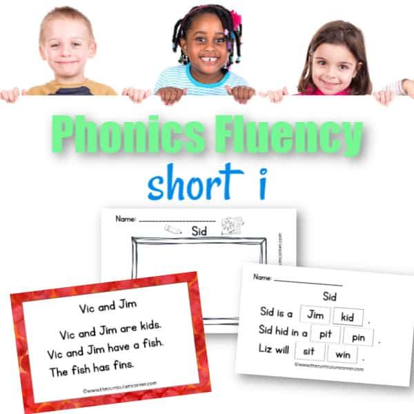Short i Fluency Practice
