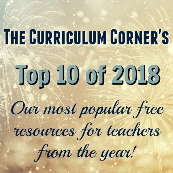 The Curriculum Corner's Top 10 of 2018