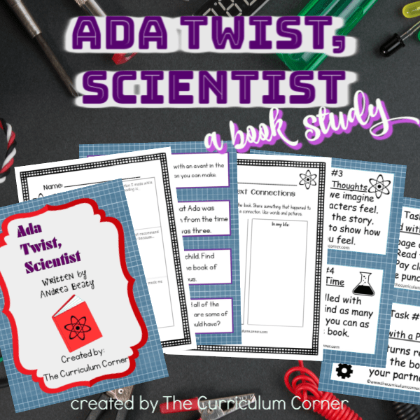 Book Study: Ada Twist, Scientist
