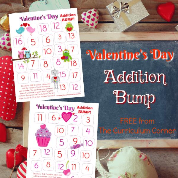 Valentine's Day Addition Bump