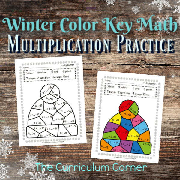 Winter Color Key Multiplication