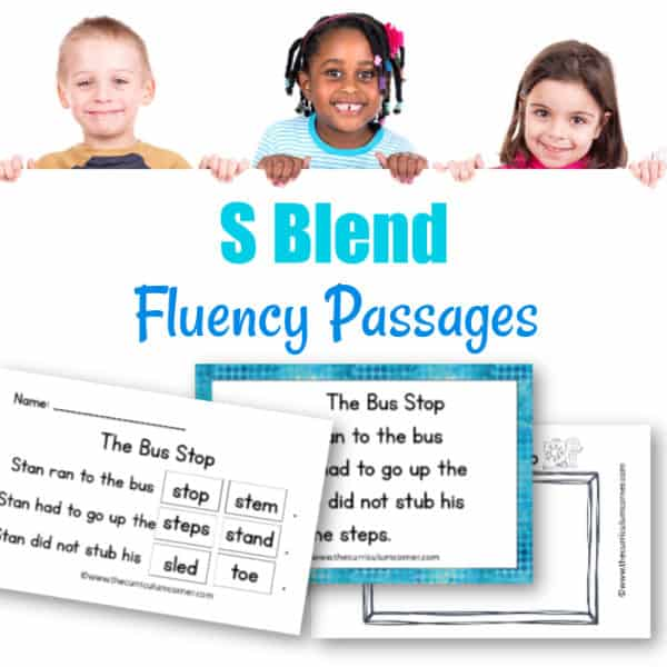 S Blends Fluency Practice