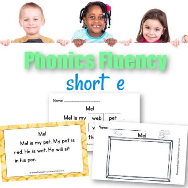 Short e Fluency Practice