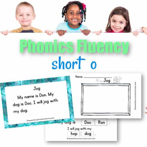 Short o Fluency Practice