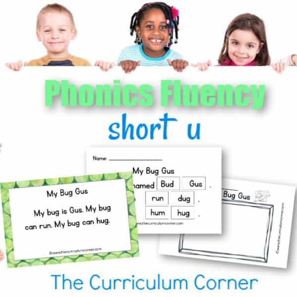 Short u Fluency Practice
