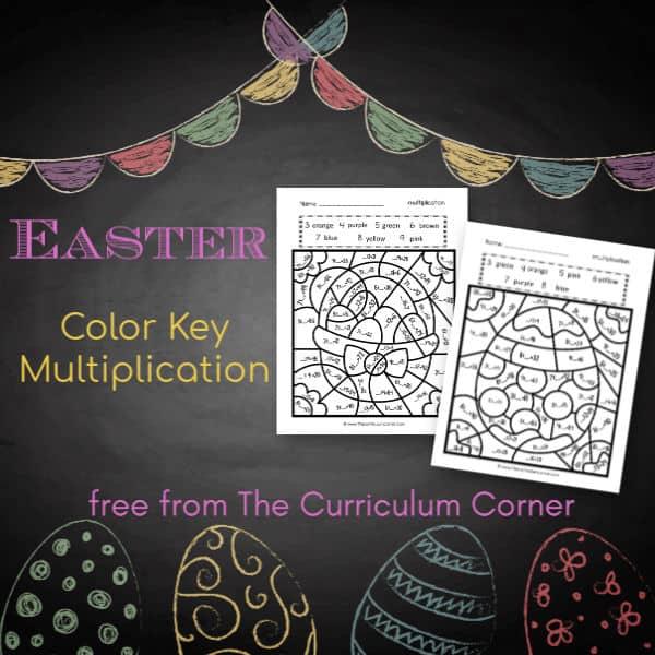 Easter Color Key Multiplication