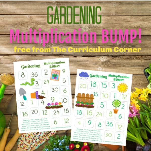Gardening Multiplication BUMP!