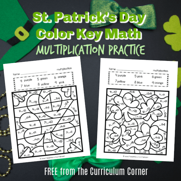 St. Patrick's Day Color Key Multiplication