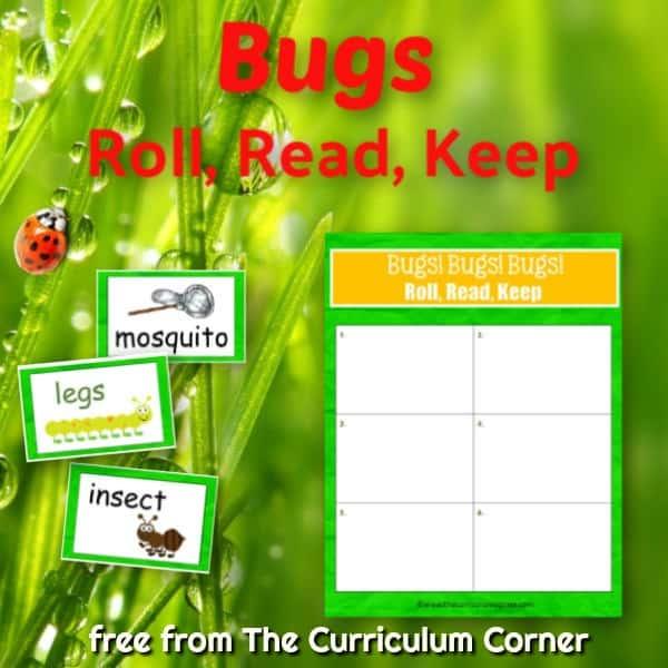 Bugs Roll, Read & Keep
