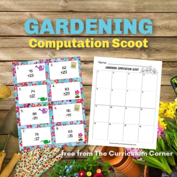 Gardening Computation Scoot