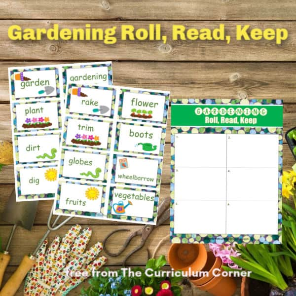 Gardening Roll, Read, Keep
