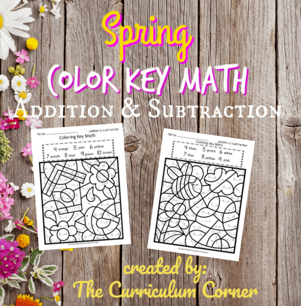 Spring Color Key Set 2 (add / subtract)